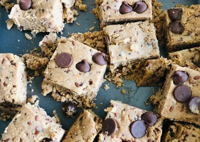 No Bake Energy Squares