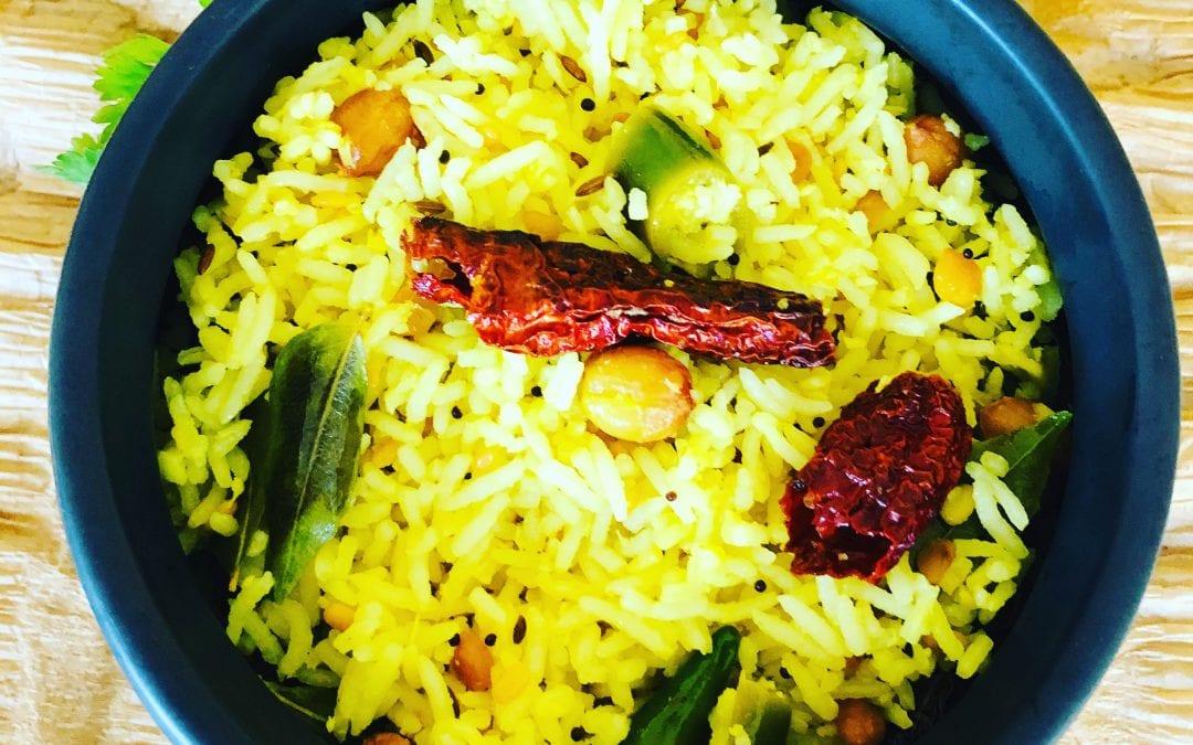 Tangy Lemon Rice
