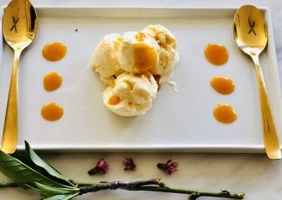 Orange Blossom Ice Cream