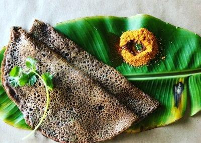 Ragi or Finger Millet Dosa