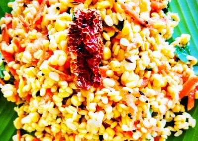 Moong Dal Kosambri or Salad