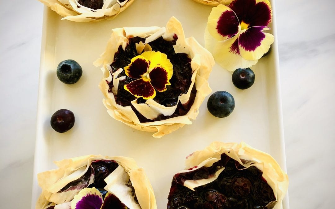 Blueberry Lime Tart